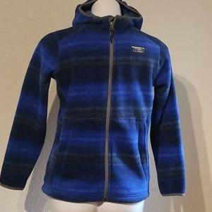 L.L.Bean fleece jacket lg 14/16